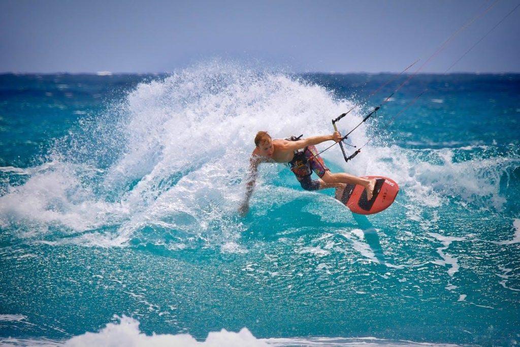 kite surfing los alcazares