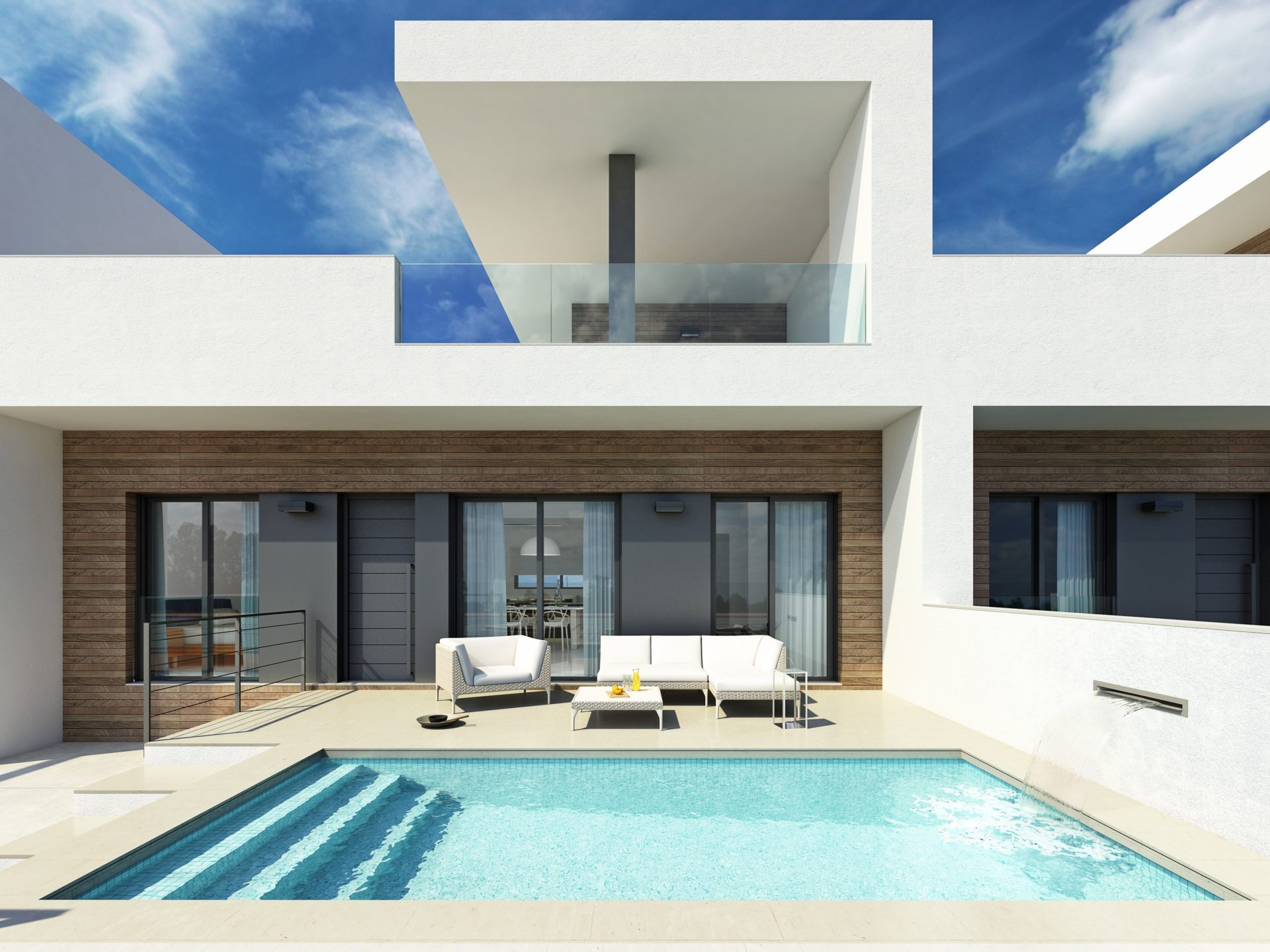 Novomar 3 Phase 2 Villas with Private Pool Daya Vieja
