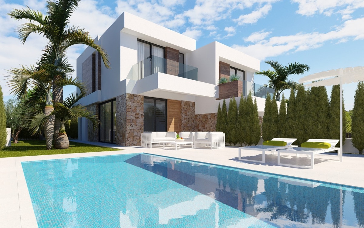 Residencial Seaview Semi-Detached Villas Finestrat 4