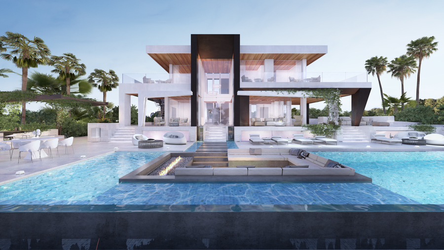 Modern and Stylish Marbella Villa For Sale