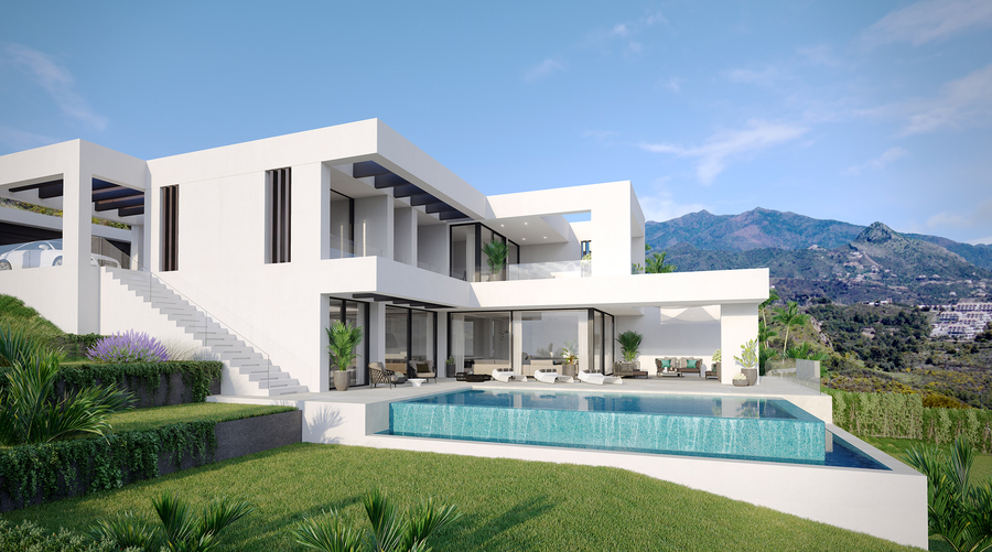 Golden Mile Luxury Villa in Cancellada, Near Estepona