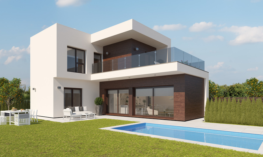 3 BED 2 BATH VILLAS WITH PRIVATE POOL ON RODA GOLF
