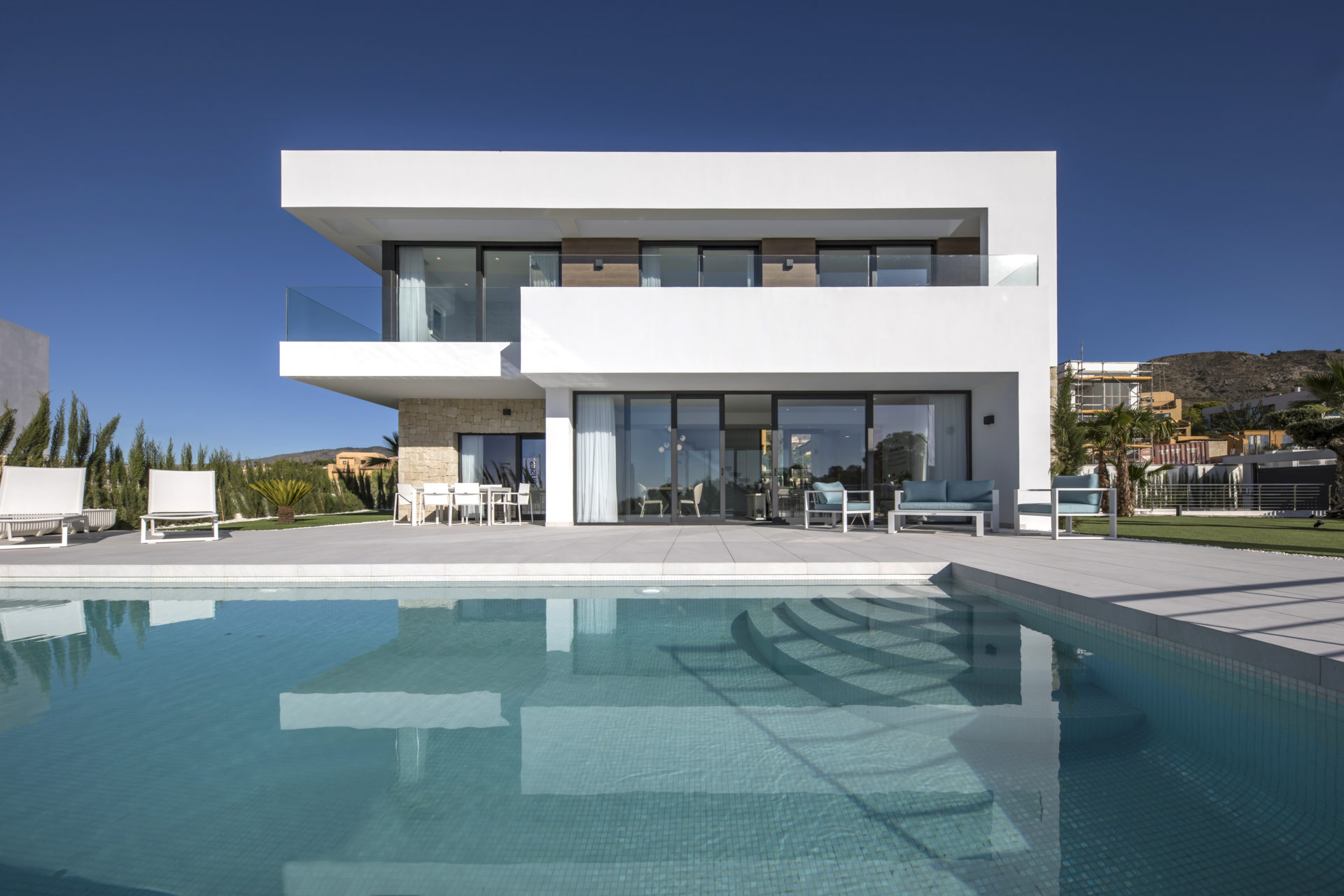 Stunning Sea View Villas – Residencial Aquamarine Golf, Finestrat