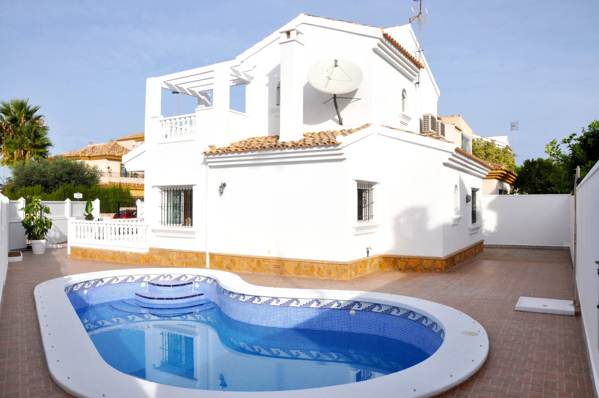 Awesome Unique 3 Bed 2 Bath Villa in Santiago de la Ribera