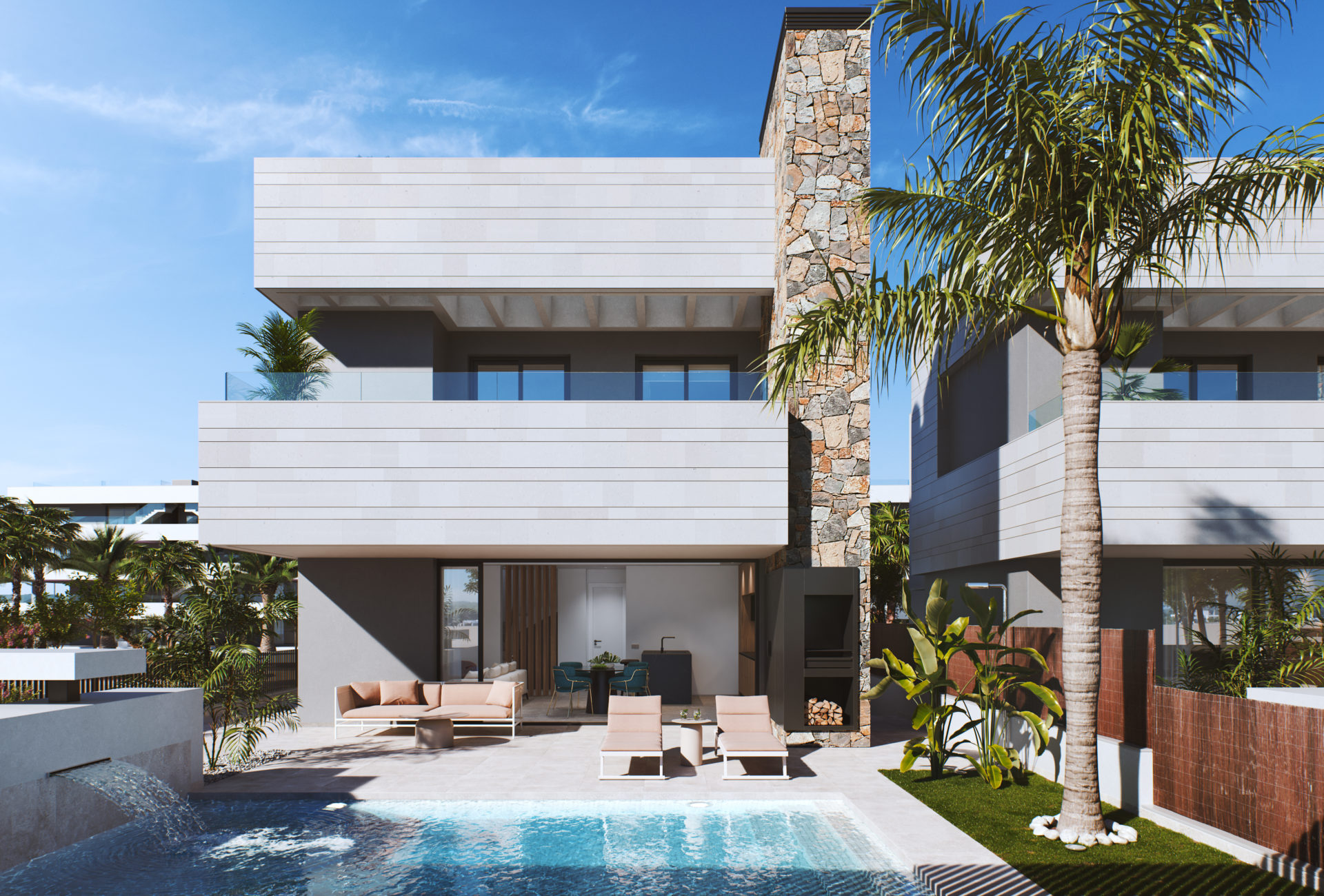 Santa Rosalia Almendro 3 Bedroom 3 Bathroom Villa with Private Pool 2